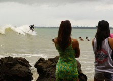 Wet and Wild Start on Day 1 of Billabong Cherating Pro 2011 in Malaysia