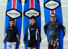 17th-23rd December 2012 Surf Package/Lesson