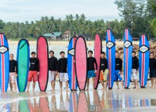2013 Surf Lesson Session.By the way Happy new year from us!!