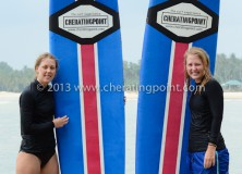 15th January 2013 Swedish girl surf lesson