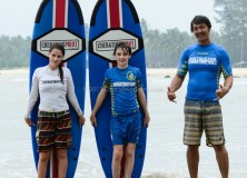 28/29th December Surfing lesson session.