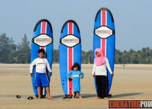 27th January 2014 surf lesson session.