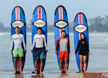 15th/16th Feb 2014 surfing lesson session