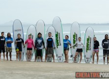 15/16thNovember 2014 surf lesson session at Cheratingpoint
