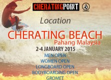 1st Editional Malaysia Surf Festival 2015: Cherating Point Cup 2015