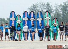 10-11th January 2015 surf Lesson session at Cheratingpoint surf school