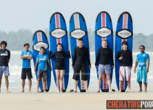 17-18th January 2015 surf Lesson session at Cheratingpoint surf school