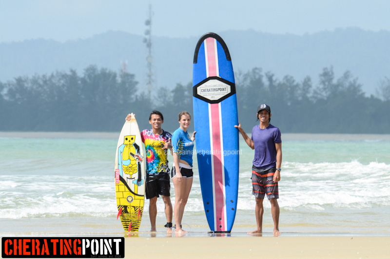 Tuesday 3rd March 2015 surf session at Cheratingpoint surf school