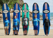 19th November 2015 weekdays surf lesson package session at Cheratingpoint surf school season 2015/2016