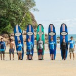 18th November 2015 surf package session at cheratingpoint surf school