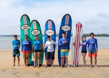 5-6th December 2015 week/weekend  surf lesson session.
