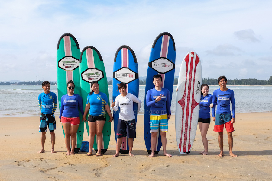 weekend  5-6th December 2015 session here at Cheratingpoint surf school