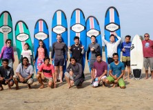 19-20th December 2015 week/weekend  surf lesson session.
