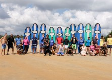 9-10th January 2016 weekend's Surf lesson session