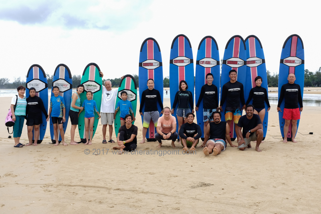 Surf lesson session, weekend 25-26th November and 2-3rd December  2017 at CheratingPoint Surf School