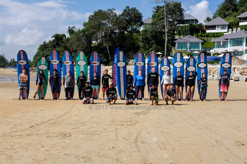 Christmas Holidays 2017 surf lesson session and 16-17th December at Cheratingpoint surf school