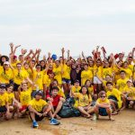 beach clean up with trash hero cherating.For more detail please contact them https://www.facebook.com/trashherocherating/   Cr. Photographer : @Raj Hegde