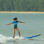 18-19th January surf lesson session with French school in Kuala Lumpur
