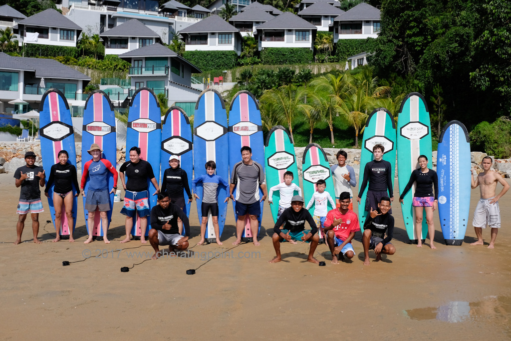 Surf lesson session,New year 2018,6-7th Jan,13-14th Jan weekend and weekdaysat CheratingPoint Surf School