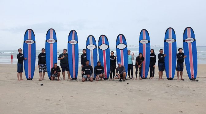 23-30th November 2018 surf lesson session at Cheratingpoint surf school