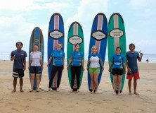 Our last surf lesson session for the season 2015/2016 5-6th March 2016.