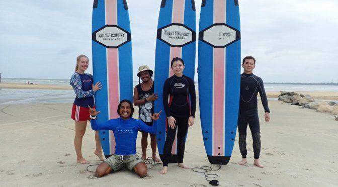 17th November – 6th December 2019 Surf lesson