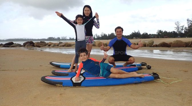 3rd-19th January cheratingpoint surf school lesson