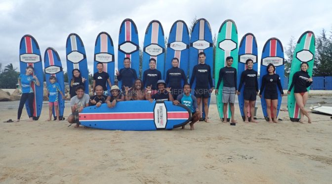 20th December – 2nd January 2020 surf lesson.